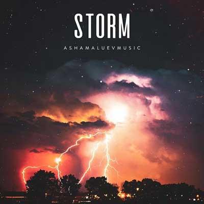 آشاملو طوفان