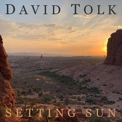 دیوید تولک غروب خورشید