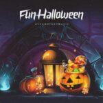 آشاملو هالووین سرگرم کننده