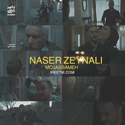 ویدئو ناصر زینعلی مجسمه